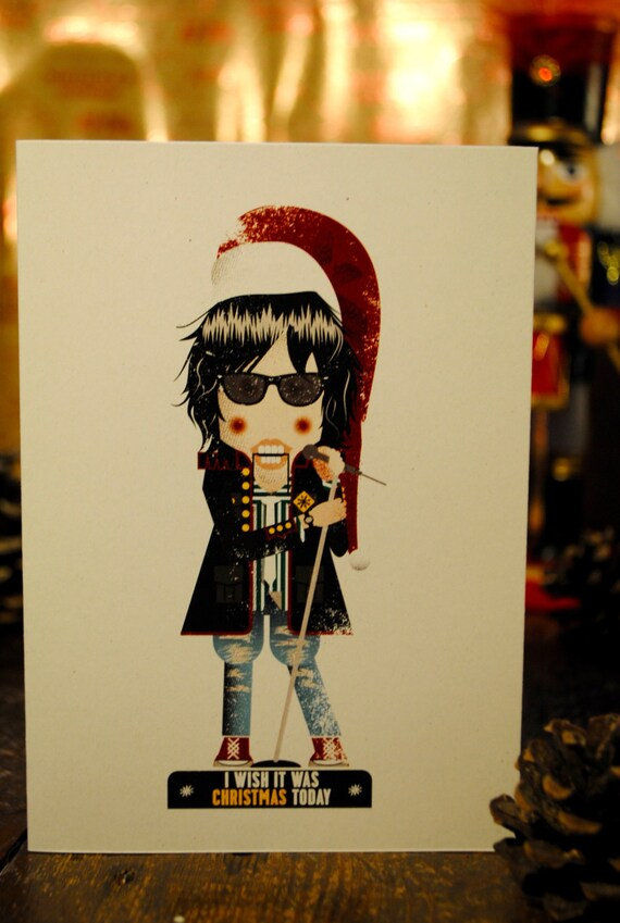 I Wish It Was Christmas Today Julian Casablancas The   Etsy