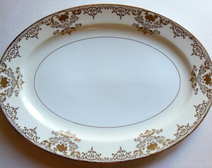 "MEITO - Serving Platter - 16 1/2"" - Goldwyn Pattern"