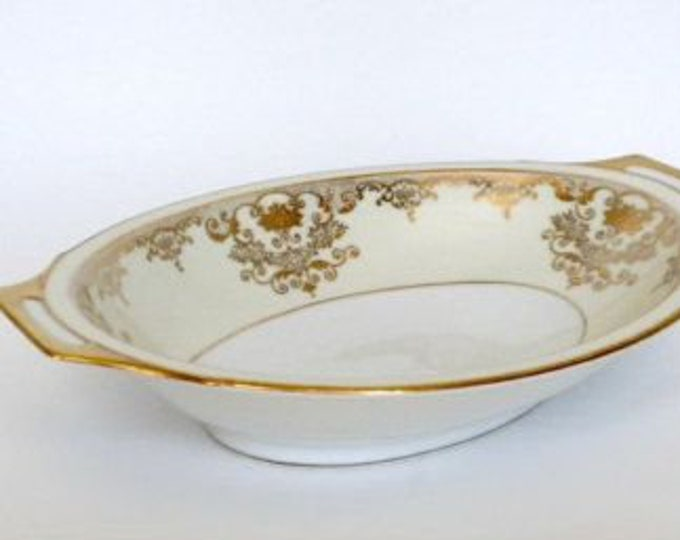 MEITO - Serving Bowl - Goldwyn Pattern