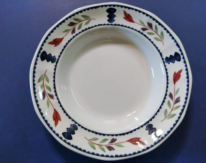 ADAMS CHINA (England) - Soup Bowl - Lancaster Pattern - circa 1969 - 1998