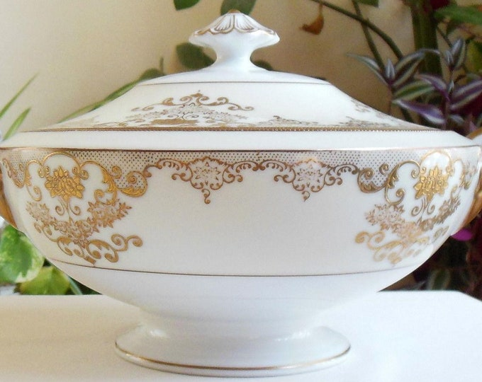MEITO - Soup Tureen - Goldwyn Pattern