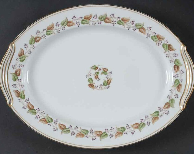 "NORITAKE - Serving Platter - Oval 16 1/2"" - Cordova Pattern - Japan - circa 1951 to 1955"