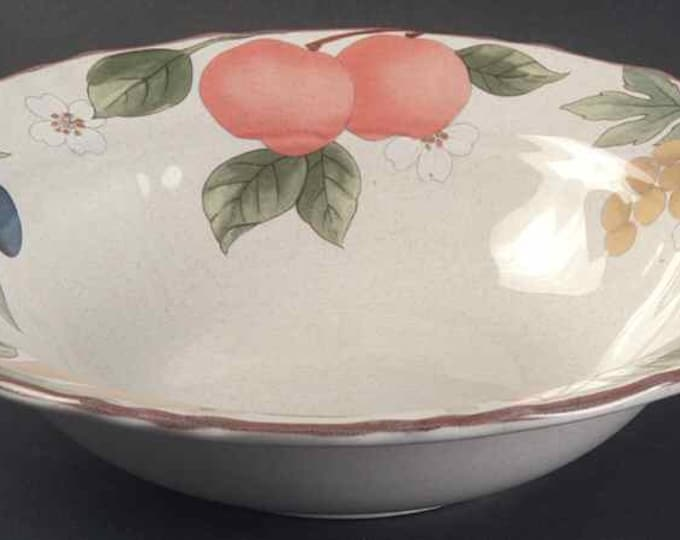 MIKASA - Salad/Soup Bowl - Fruit Panorama Pattern