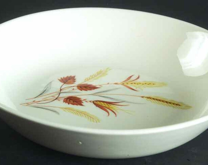 TAYLOR SMITH - Salad/Dessert Bowl - Autumn Harvest Pattern from the Ever Yours Line - very Retro