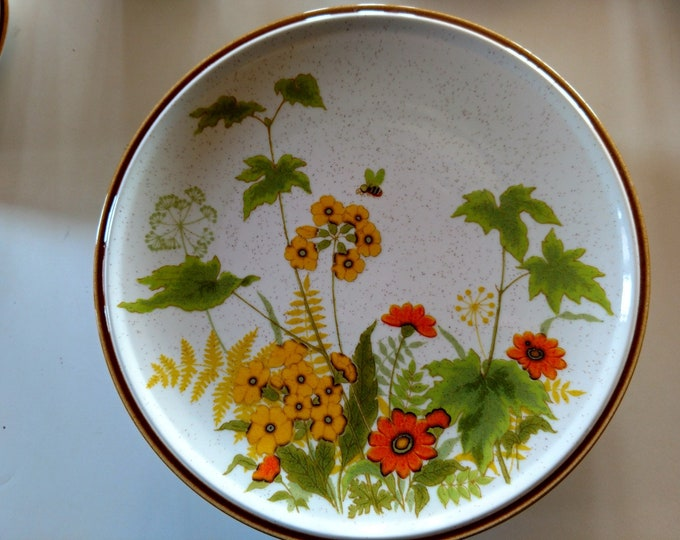"MIKASA - Dinner Plate - ""Fresh From the Garden"" - Japan - EXCELLENT CONDITION - Late 1970's - C9060 Pattern"