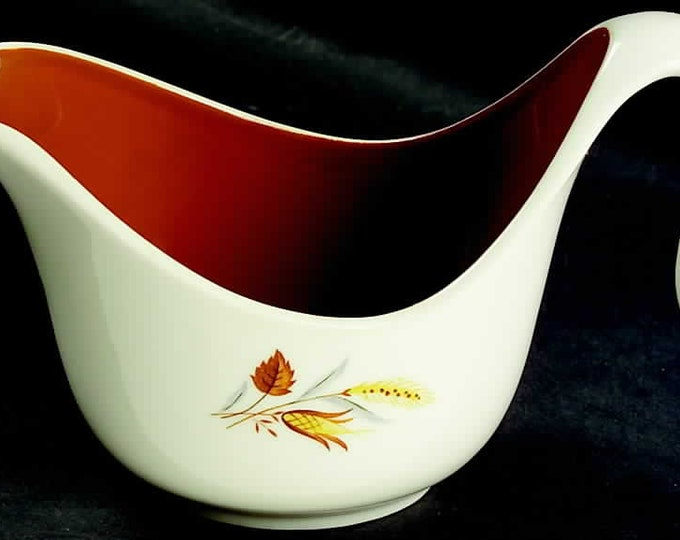 TAYLOR SMITH - Creamer - Autumn Harvest Pattern from the Ever Yours Line - 1960's