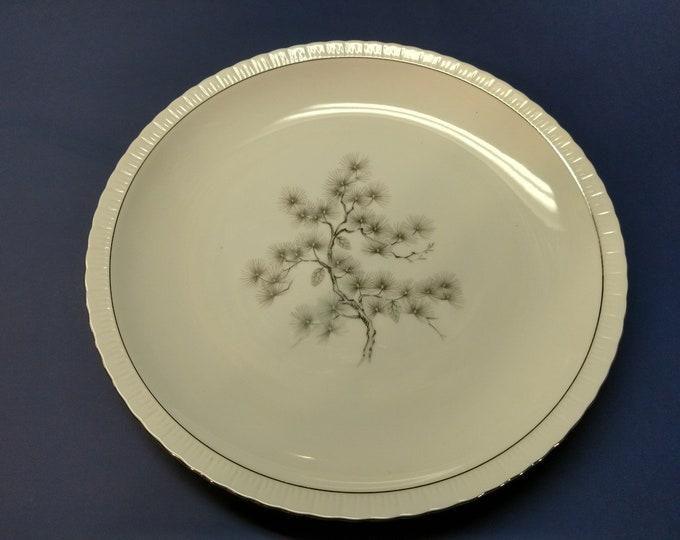 GOLD CHINA (Japan)  - Serving Platter - Regal Pine Pattern - #4132