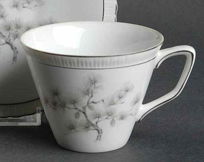 GOLD CHINA (Japan)  - Tea / Coffee Cup - Regal Pine Pattern - #4132