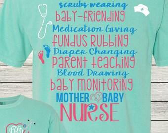 mother baby nurse etsy