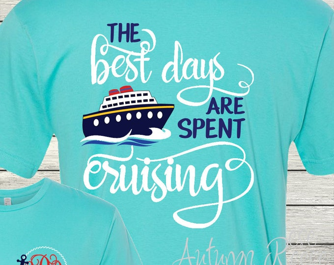 aea3fc544baf59 Monogrammed Cruise Shirt great for Ladies and Men Family Vacation Family  Cruise