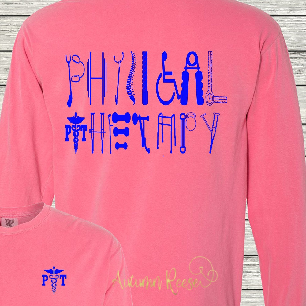 129a8fda Physical Therapy Therapist Assistant Monogrammed Customized   Etsy