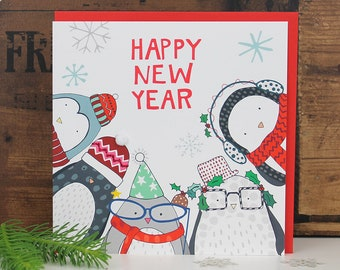 happy new year card greetings card for new year new year card happy new year card for friends