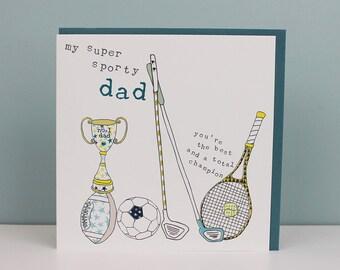 Dad Birthday Card Birthday Dad Diy Dad Card Diy Dad Etsy