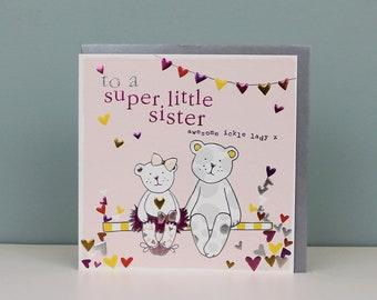 Little Sister Card Etsy