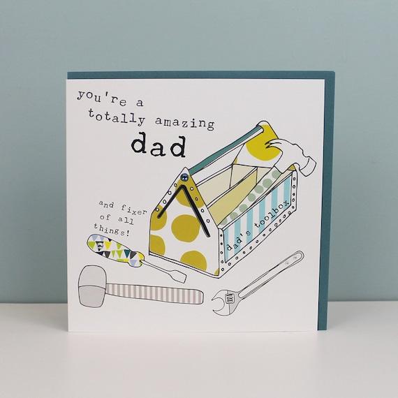 Dad Birthday Card Birthday Dad DIY Dad Card DIY Dad