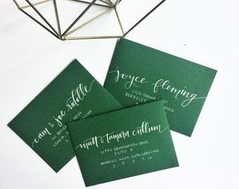 Envelope Addressing, Calligraphy Address, Modern Calligraphy Envelope, Guest Envelope Addressing, Envelope Calligraphy, Handlettered Address