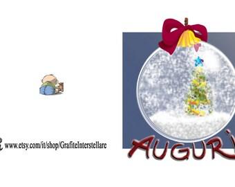 Gift tags Christmas ornament