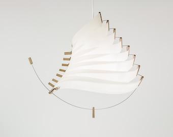 luminaire suspension lustre design Eole