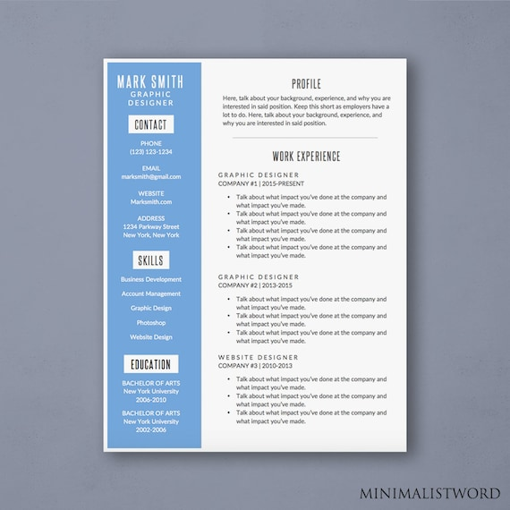 microsoft word templates resumes