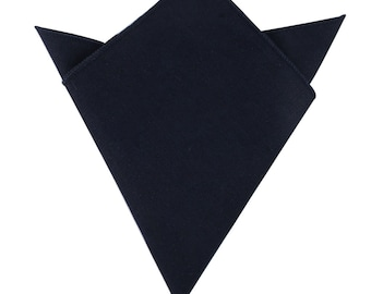 a55c8f901a158 Navy Pocket Square Linen & Cotton Pocket Square Mens Bow Tie Husband Gift  Groomsmen Handkerchief Mens Hanky Hankie Groom Gift for Him