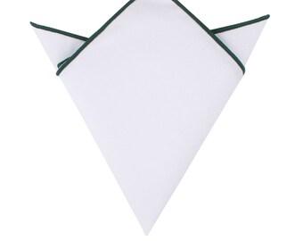 Black Pocket Square Mens Husband Gift Groomsmen Handkerchief Mens Hanky Hankie Groom Gift for Him Christmas Gift for Him Graduation Gift