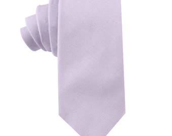 Mens Skinny Neck Tie VIOLET PLUM PURPLE Silky Slim Everyday Office Party Wedding