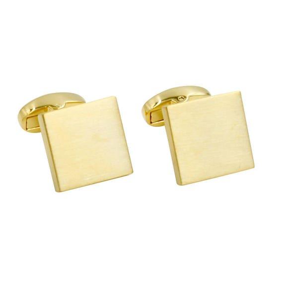 Gift for Men Cufflinks Box Inc 5 Yr Warranty Groomsmen Cuff Links Black Cufflinks Carbon Fiber Cufflinks