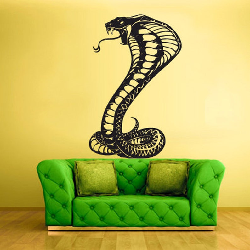 snake wall decals snake wall art snake wall decor snake wall | etsy