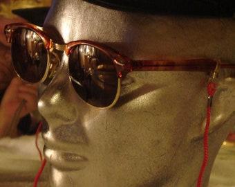ab64e24d059a Retro Wayfarer Sunglasses Made By ROC Taiwan, New Vintage Unisex Shades