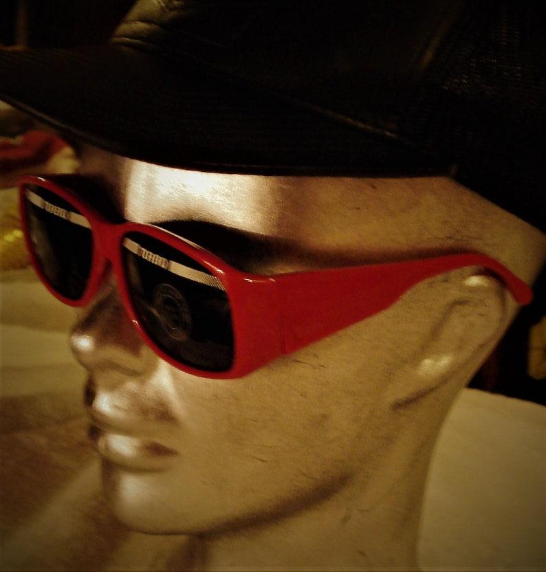 3f2562ae213 Vintage Rare Turbo Sunglasses Made By ROC Taiwan Super Dark