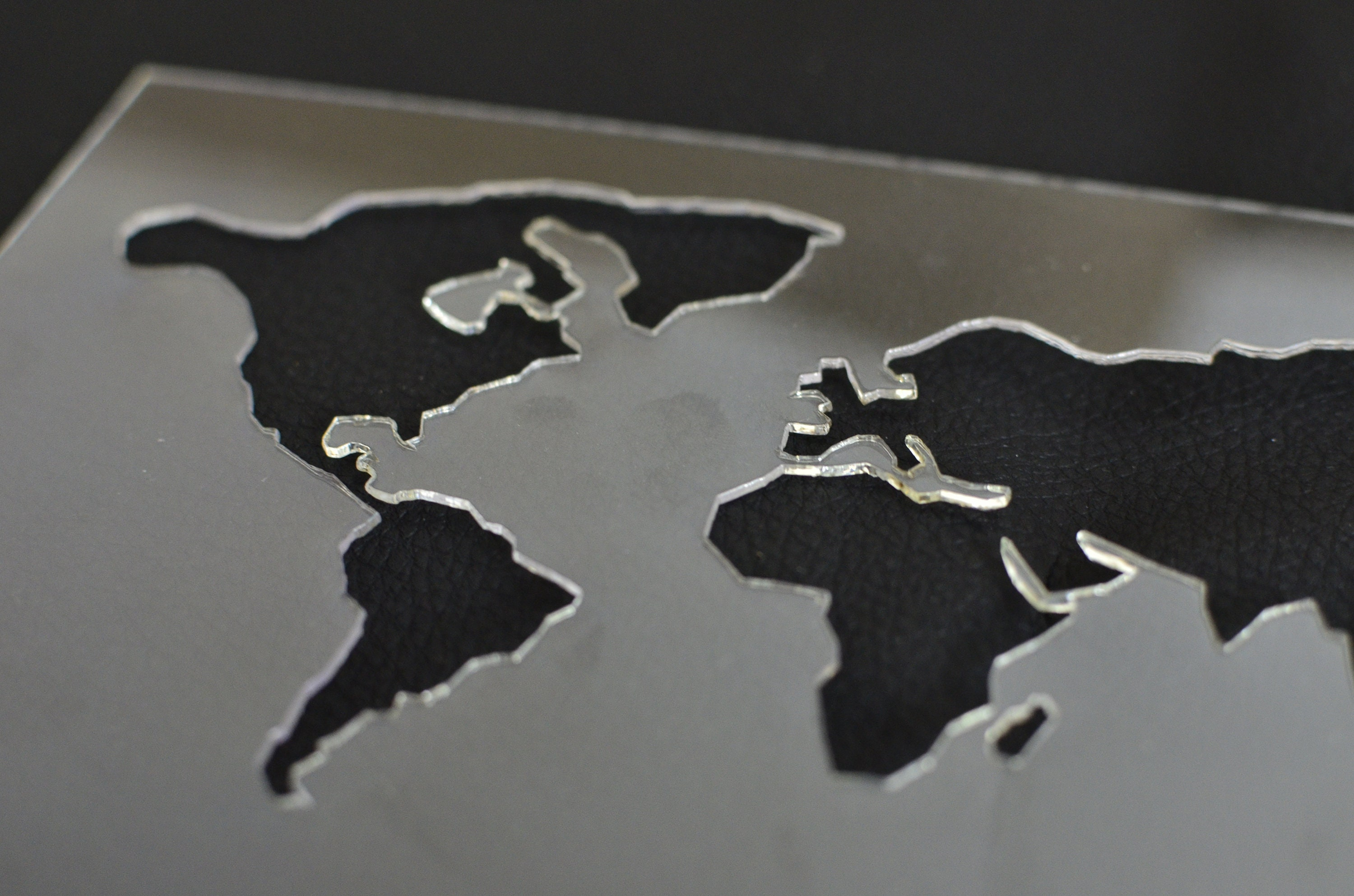 World map stencil for crafts World map small stencil for hand | Etsy