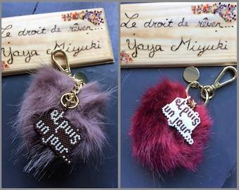 Jewelry bags / / tassel message