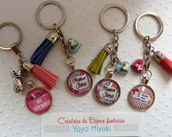 Jewelry bags / / Cabochons messages and tassels
