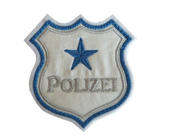 Application, patch police badge