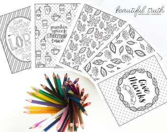 TRUST Bundle Printable Coloring Pages Christian Coloring