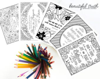 Fall Bundle Printable Coloring Pages Christian Coloring