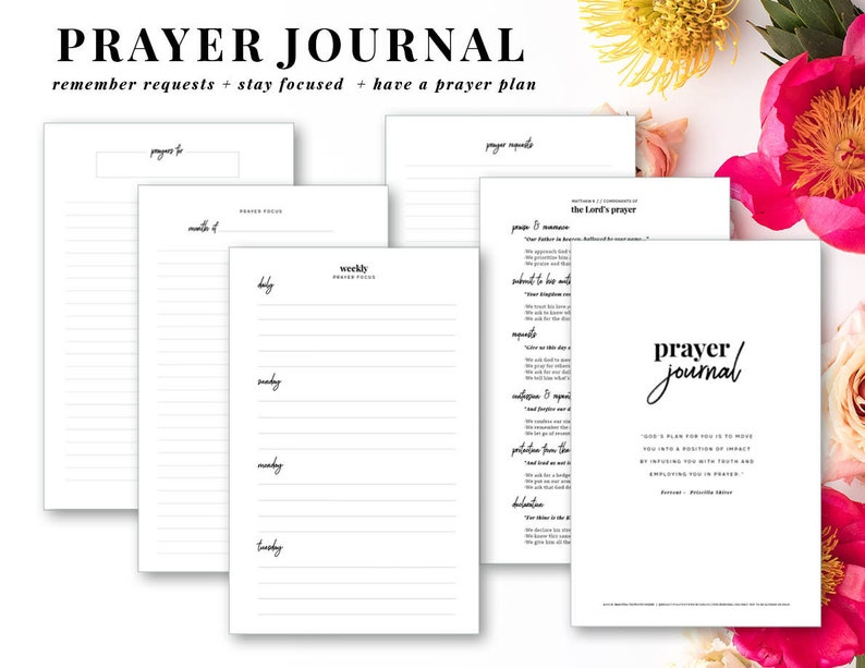 graphic about Printable Prayer Journal Pdf identify Prayer Magazine, Printable Prayer Magazine, Tailored Prayer Magazine, Quick Electronic Down load PDF