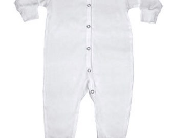 Wreath Unisex Long Sleeve Baby Gown Baby Bodysuit Unionsuit Footed Pajamas Romper Jumpsuit
