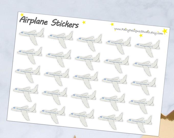 Airplane Planner Stickers