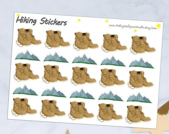 Hiking Planner Stickers