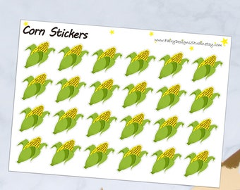 Corn Planner Stickers