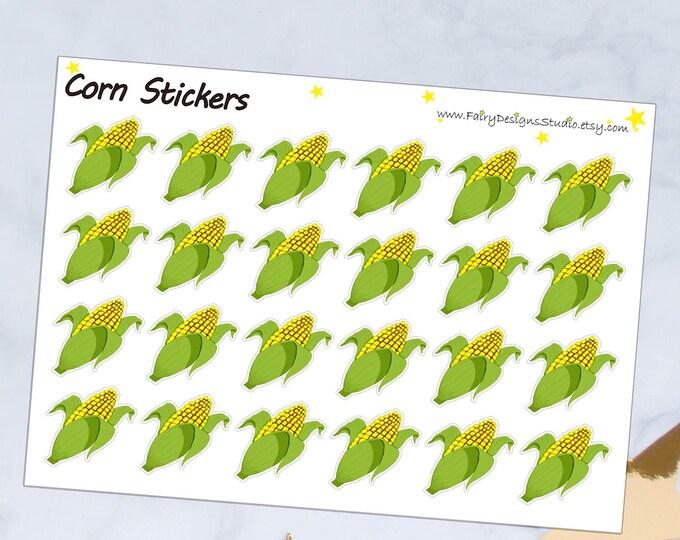 Corn Planner Stickers