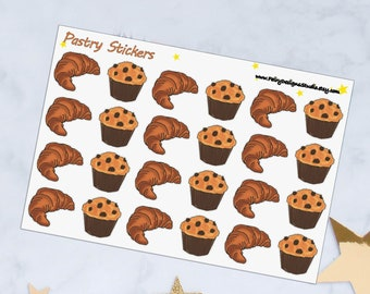 Pastry Planner Stickers