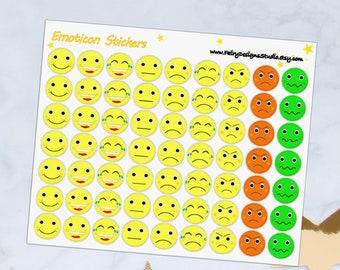 Emoticon Planner Stickers