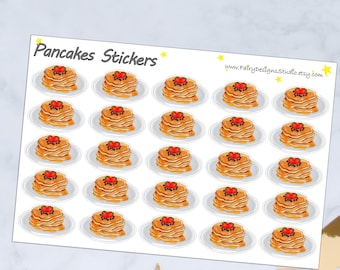 Pancakes Planner Stickers
