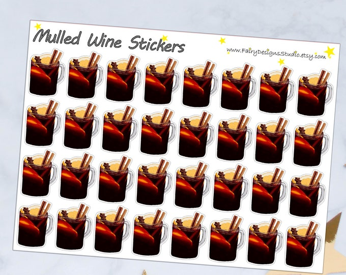 Mulled Wine Planner Stickers
