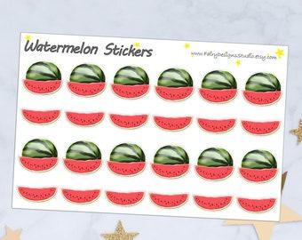 Watermelon Planner Stickers