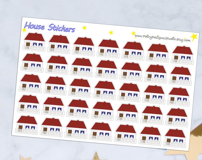 House / Mortgage Payment Planner Stickers