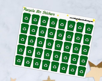 Recycle Planner Stickers