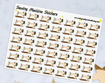 Sewing Machine Planner Stickers